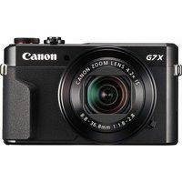 CANON PowerShot G7X Mark II High Performance Compact Camera - Black