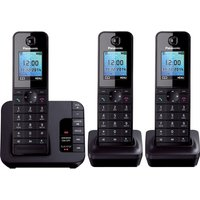 Click to view product details and reviews for Panasonic Kx Tg8183eb Cordless Phone With Answering Machine Triple Handsets.