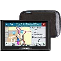 "GARMIN Drive 51LMT-S UK 5"" Sat Nav - UK & ROI Maps & Case"