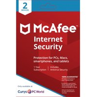 MCAFEE Internet Security - 1 user / 2 devices for 1 year