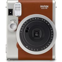 INSTAX Mini 90 Instant Camera - Brown, Brown