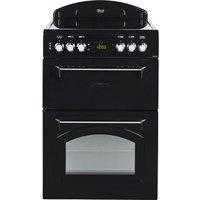 LEISURE CLA60CEK 60 cm Electric Ceramic Cooker - Black, Black