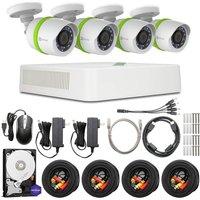 Ezviz 8-channel Full Hd 1080p Home Security Kit - 4 Cameras, 1 Tb Dvr