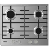 HOOVER HHW6BRMX Gas Hob - Stainless Steel, Stainless Steel