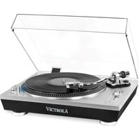 VPRO-2000 Belt Drive Bluetooth Turntable - Silver, Silver