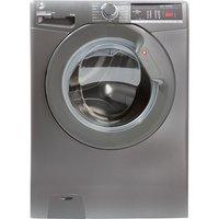 HOOVER H-Wash 300 H3W 48TGGE NFC 8 kg 1400 Spin Washing Machine – Graphite, Graphite.