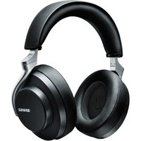 SHURE Aonic 50 SBH2350-BK-EFS Wireless Bluetooth Noise-Cancelling Headphones - Black, Black