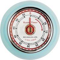 EDDINGTONS Retro Magnetic Kitchen Timer - Blue, Blue