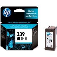 HP 339 Black Ink Cartridge, Black