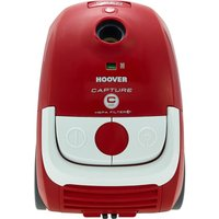 HOOVER Capture CP71 CP01001 Cylinder Vacuum Cleaner - Red & White, Red
