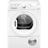 HOTPOINT  Futura TCFS93BGP Condenser Tumble Dryer - White, White