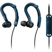 PHILIPS ActionFit SHQ3405BL/00 Headphones - Blue, Blue
