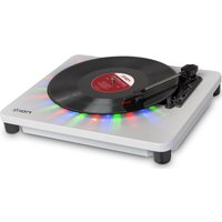 ION Photon LP USB Turntable - White, White