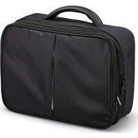 LOGIK LPDVDC17 Twin Pack Portable DVD Case - Black, Black