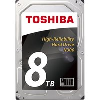TOSHIBA N300 3.5 Internal Hard Drive - 8 TB