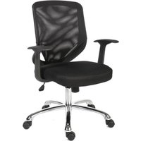 TEKNIK Nova Mesh Tilting Executive Chair - Black, Black