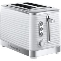 Buy RUSSELL HOBBS Inspire 24370 2-Slice Toaster - White, White - Currys PC World