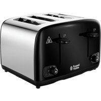 Buy RUSSELL HOBBS Cavendish 24093 4-Slice Toaster - Black, Black - Currys PC World