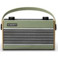 Roberts Rambler Portable Dabﱓ Retro Radio - Green, Green