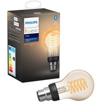 Philips HUE Filament Bluetooth LED Bulb - A60, B22, White