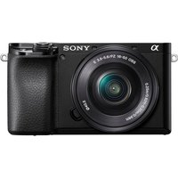 SONY a6100 Mirrorless Camera with E PZ 16-50 mm f/3.5-5.6 OSS Lens