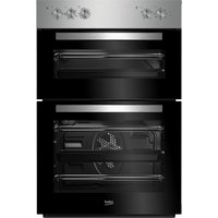 BEKO BXDF21100X Electric Double Oven - Stainless Steel, Stainless Steel