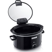 CROCK-POT CSC031 Slow Cooker - Black, Black