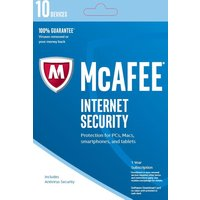 Click to view product details and reviews for Mcafee Internet Security 2017 1 Year For 10 Devices Download.