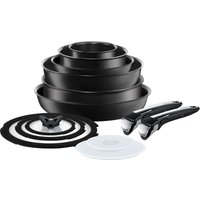 Tefal Ingenio L3209845 13-piece Non-stick Complete Set - Black, Black