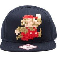 MARIO 3D Pixel Jumping Snapback Cap - Blue, Blue