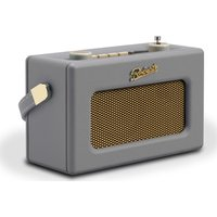 Click to view product details and reviews for Roberts Revival Uno Retro Portable Clock Radio Dove Grey Grey.