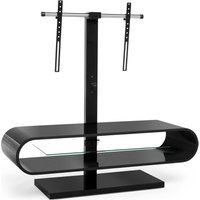 Techlink Ov120tvb 1160 Mm Tv Stand With Bracket - Black, Black