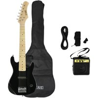 3RD AVENUE STX30 Junior Electric Guitar Bundle - Black, Black