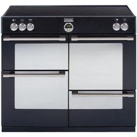 STOVES Sterling 1100Ei Electric Induction Range Cooker - Black, Black
