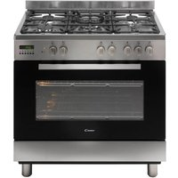 CANDY CCG9M52PX Maxi Dual Fuel Range Cooker - Stainless Steel, Stainless Steel