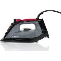 BOSCH TDA2060GB Steam Iron - Black & Red, Black