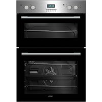 LOGIK LBIDOX16 Electric Double Oven - Stainless Steel, Stainless Steel