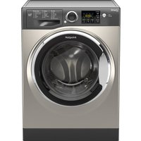 HOTPOINT Smart RSG964JGX Washing Machine - Graphite, Graphite