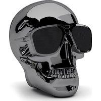 JARRE AeroSkull XS Portable Wireless Speaker - Chrome Black, Black
