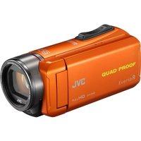 JVC GZ-R435DEK Camcorder - Orange, Orange