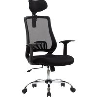 ALPHASON Florida AOC4125BLK Mesh Tilting Executive Chair - Black, Black