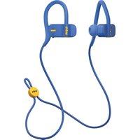 JAM Live Fast HX-EP404BL Wireless Bluetooth Headphones - Blue, Blue
