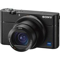 SONY Cyber-shot DSC-RX100 V High Performance Compact Camera - Black, Black.