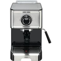 L15EXC19 Espresso Coffee Machine - Stainless Steel & Black, Stainless Steel