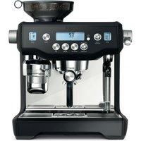 SAGE The Oracle BES980BTR Coffee Machine - Black Truffle, Black