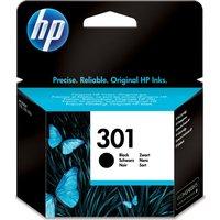 HP 301 Black Ink Cartridge, Black