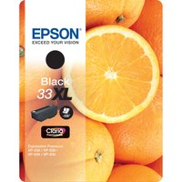 EPSON No. 33 Oranges XL Black Ink Cartridge, Black