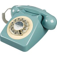 WILD & WOLF 746 Corded Phone - French Blue, Blue