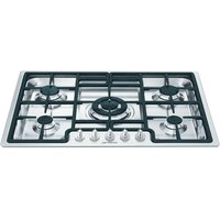 SMEG Classic PGF75-4 Gas Hob - Stainless Steel, Stainless Steel