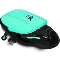 PORT DESIGNS Arokh Gaming Mouse Pouch - Black & Green, Black